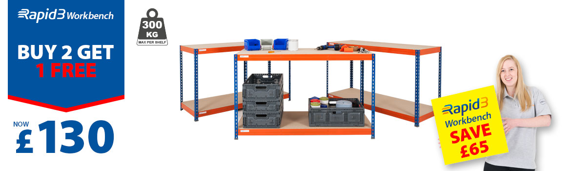 Rapid 3 workbenches