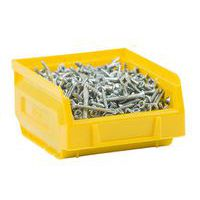 Manutan yellow picking storage bin 0.7L.