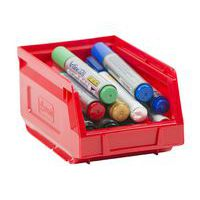 Manutan red picking storage bin 1L.