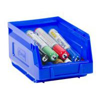 Manutan blue picking storage bin 1L.