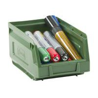 Manutan green picking storage bin 1L.