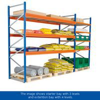 Wide Span Shelving Kits In Use