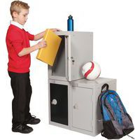 1 Door Quarto Lockers In Use