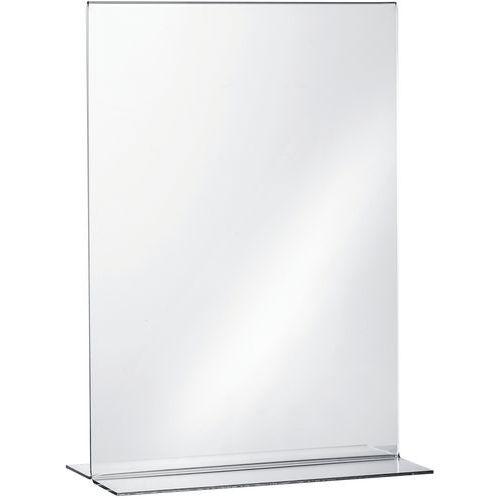 Transparent table display stand - Manutan