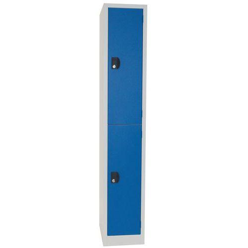 Storage Lockers 2 Door - 1800x315x500mm