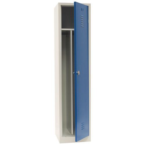 Clean & Dirty Locker With Plinth and Hasp Lock 400mm Wide