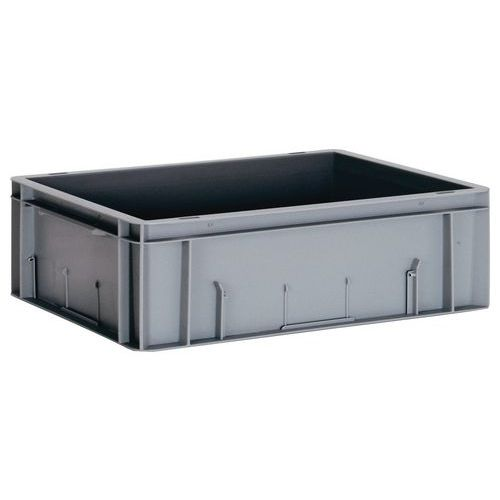 Grey Stacking Containers 14L to 40L - 600mm