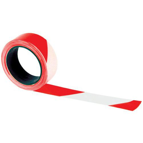 Polyethylene Tape - Red & White - Manutan