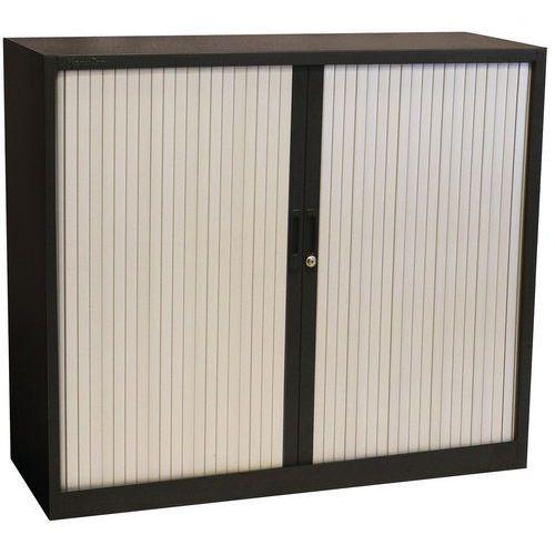 PVC Tambour Door Cupboard - HxWxD 1050x1000x450mm