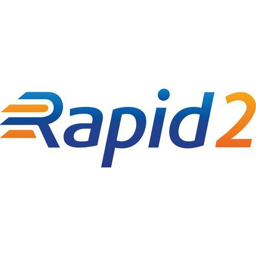 Rapid 2 Galvanized with 5 Chipboard Shelves (1980h x 1220w)