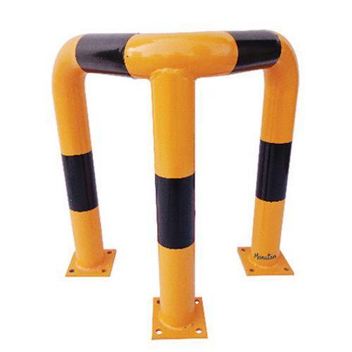 Corner hoop barrier