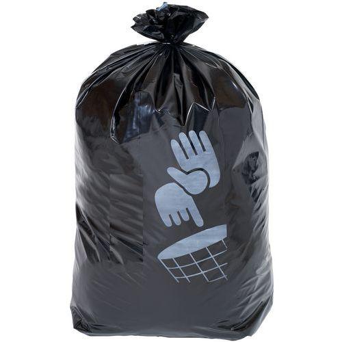 Black Bin Bag - Heavy Duty Waste - 60L to 160L - Manutan