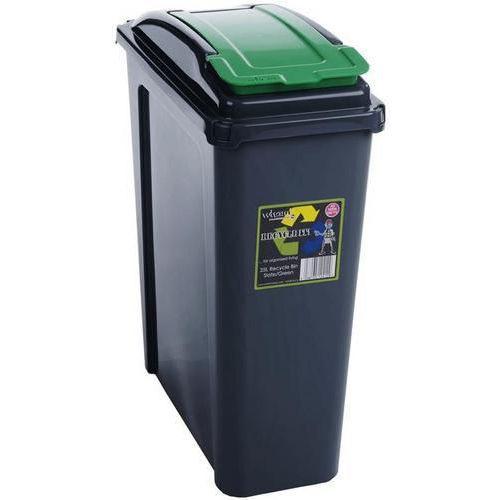 Recycling Slim Bins - 25L