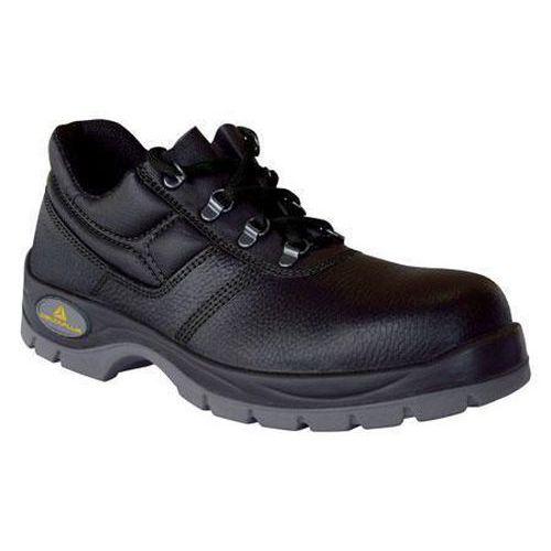 Black Leather Jet Shoes