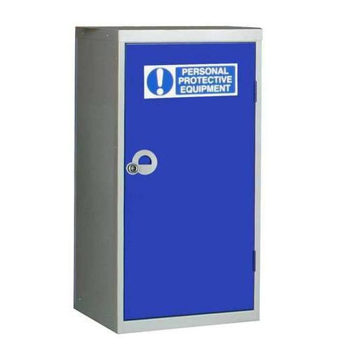 PPE Cupboard - Low Single Door Cabinet