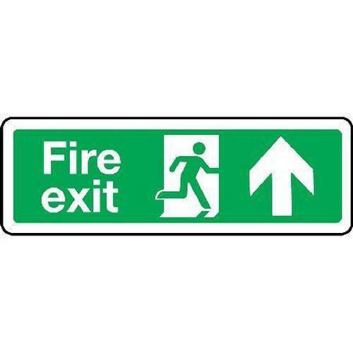 Fire exit Sign - Arrow Up
