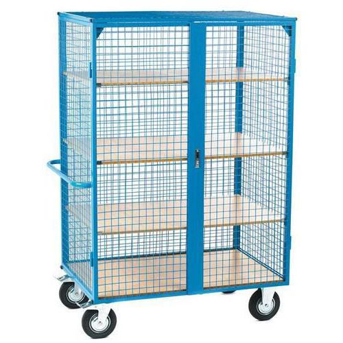 Pack of 3 Shelves for Heavy Duty Roll Pallet And Distribution Truck