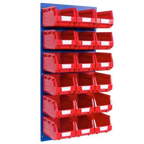 Storage Bin Kit with 18 Bins - 3.5L