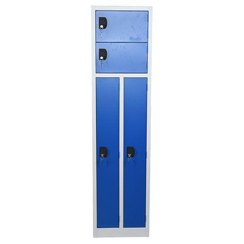 2 Person Storage Lockers - 1800x450x450mm