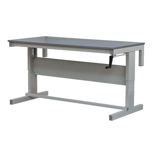 Height Adjustable Premium Workbench With Laminate Top HxW 730-950x1800