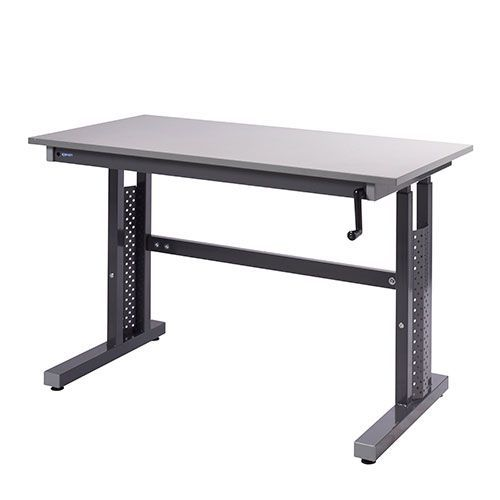 Budget Height Adjustable Workbench HxWxD 730-950x600x600mm