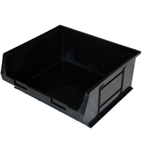 Topstore Black Recycled Semi-Open Fronted Containers