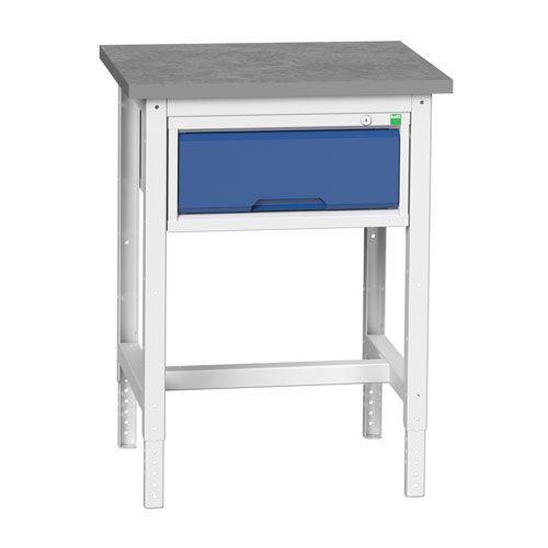 Bott Verso Adjustable Workbench With Drawers HxWxD 780-930x700x600mm