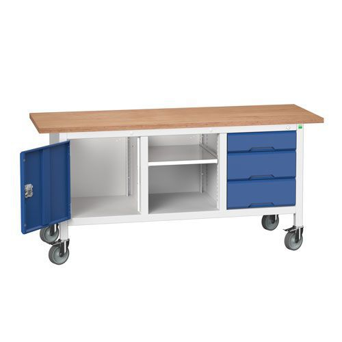 Bott Verso Mobile Workbench With Storage HxWxD 930x1750x600mm