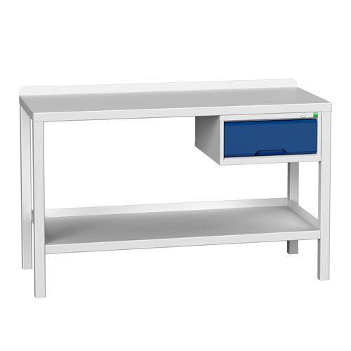 Bott Verso Heavy Duty Steel Top Workbench & Drawer HxWxD 910x1500x600mm