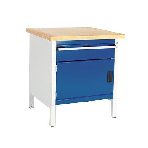 Bott Cubio Heavy Duty Workbench Cupboard/Drawer & MPX Top 840x750x750mm