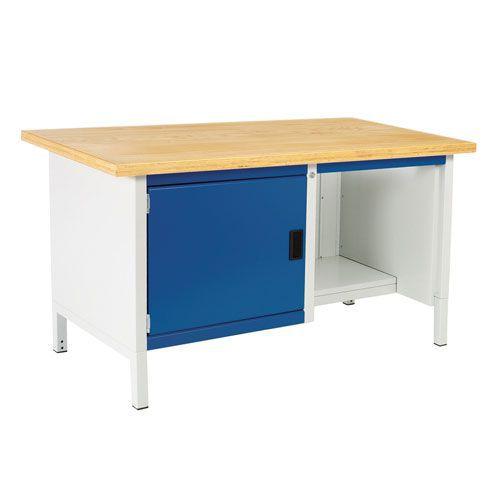 Bott Cubio Heavy Duty Workbench MPX Top Shelf & Cabinet 840x1500x750mm