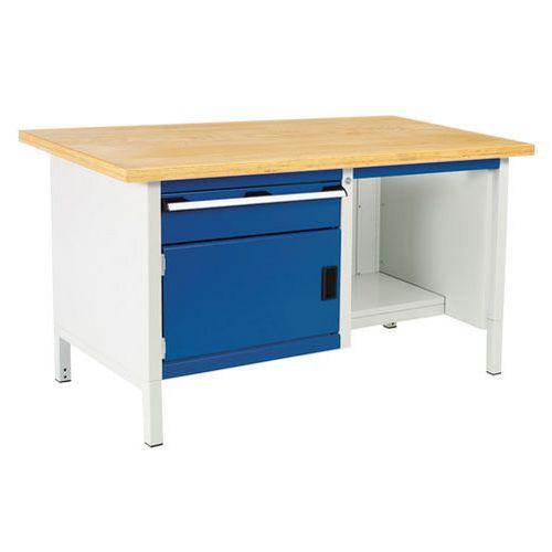 Bott Cubio Heavy Duty Workbench MPX Top Drawer Shelf & Cabinet 840x1500x750mm