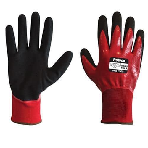 Grip It Oil Resistant Gloves - Pack of 10