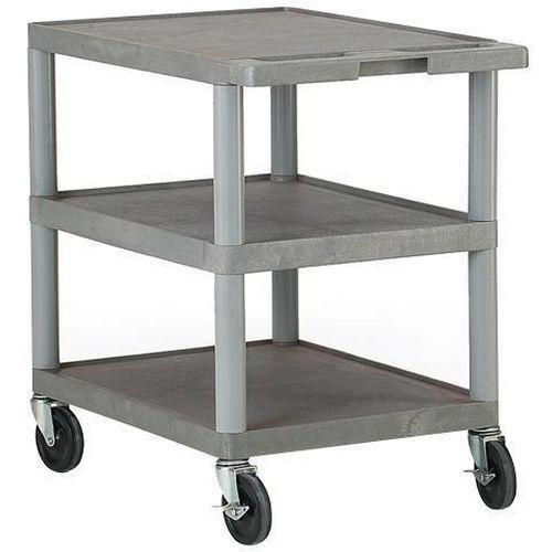 Plastic Shelf Trolleys - 150kg Capacity