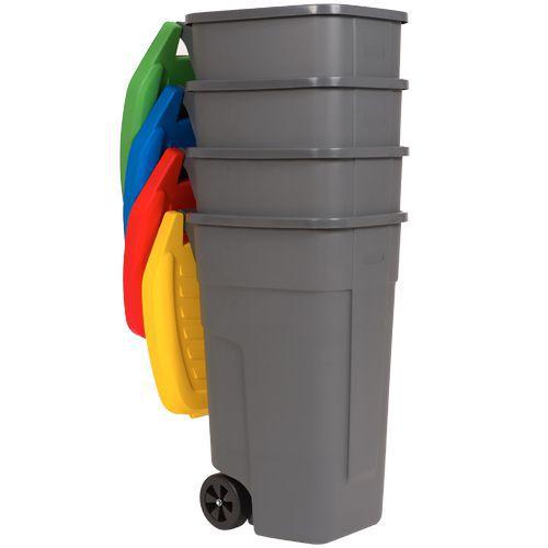 Indoor Waste Collection Bins (100L) - Four Bin Bundle