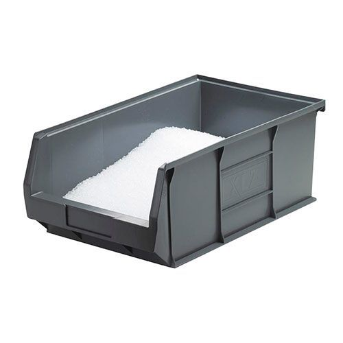 31.4L Recycled Storage Bins Grey H200xW310xD520 - Pack of 5