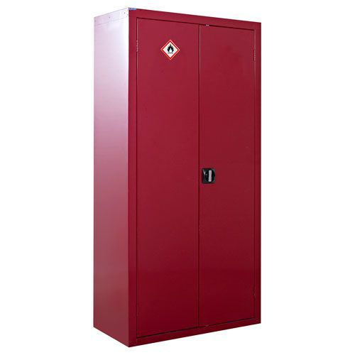Red Flammable COSHH Cabinet 1800x900x460mm