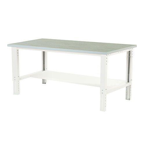 Bott Cubio Height Adjustable Workbench Shelf & Lino Top 740-1140x2000x900mm