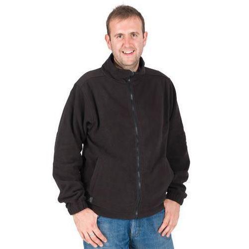 Polo Neck Zipped Fleece