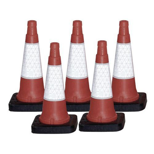 Heavy Duty Traffic Cones - Pack of 5