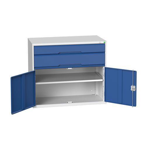 Bott Verso 1 Shelf 2 Multi-Drawer Combined Tool Cabinet 900x1050mm