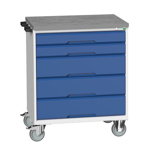 Bott Verso Multi Drawer Mobile Tool Storage Cabinet 980x800x600mm