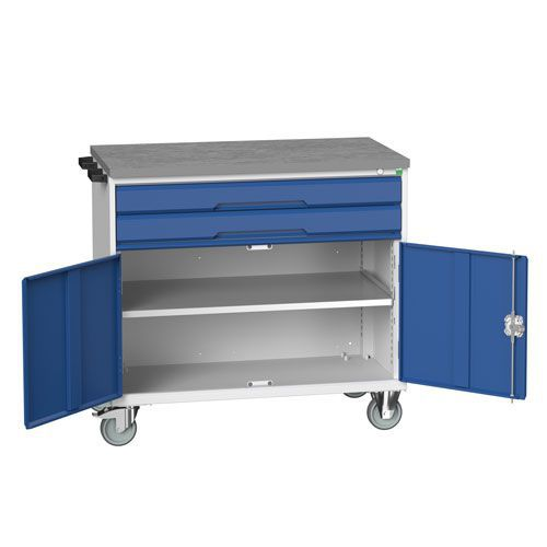 Bott Verso 2 Drawer Mobile Combination Tool Storage Cabinet