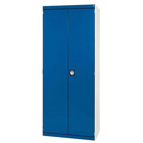 Bott Cubio CNC Metal Tool Cabinet With Louvre Storage Door WxD 800x525mm