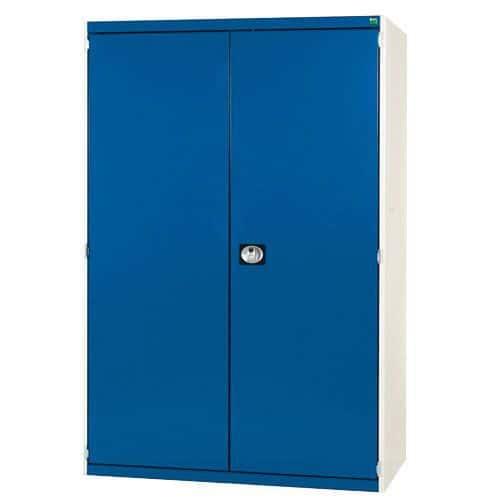 Bott Cubio Heavy Duty Cabinet With 2 Perfo Storage Doors WxD 1300x650mm