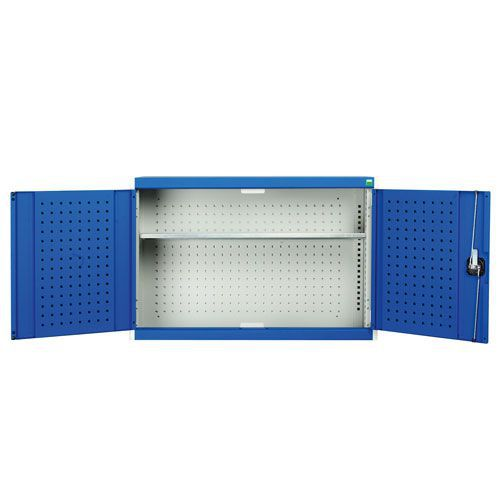 Bott Cubio Inner Perfo Storage Single Shelf Wall Cupboard 700x1050x325mm