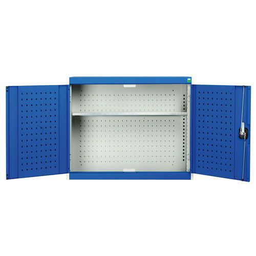 Bott Cubio Wall Cupboard With 2 Perfo Storage Doors HxWxD 700x800x325mm