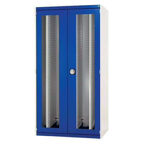 Bott Cubio Vision Door And 4 Perfo Sliding Panels Cabinet WxD 1050x650mm