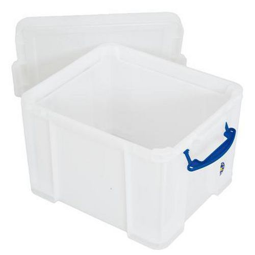 Extra Strong Really Useful Box 35L - White