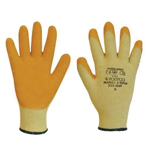 Latex Grip Gloves - Pack of 12
